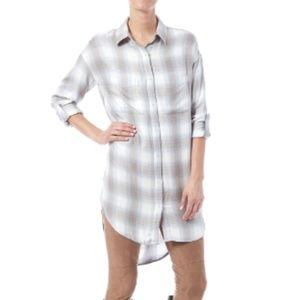 NWT! Gentle Fawn Plaid Shirt Dress